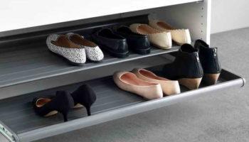Как компактно хранить обувь, если мало места: 8 способов