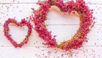 Как сделать сердце из вереска своими руками: мастер-класс