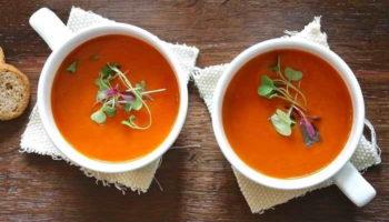 Рецепты легких и вкусных супов в жару