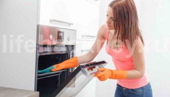 Как быстро почистить духовку от нагара