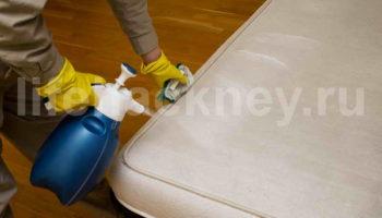 Чистим матрас в домашних условиях