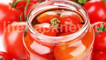 Рецепт помидоров в загадочном маринаде