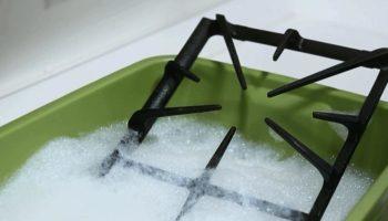 Эффективный метод очистки решетки от плиты