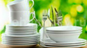 Кристальная чистота кухонной посуды без особых усилий