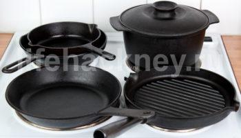 Чистота кухонной посуды без особых усилий