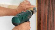 Как крепить ламинат к стене