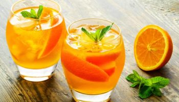 Домашний апельсиновый лимонад