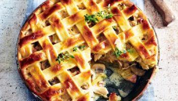 Рецепт пирога с картошкой и грибами