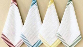 Стираем кухонные полотенца правильно