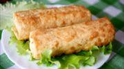 """Рецепты """"Фаршированного"""" лаваша, запечённого в духовке"""