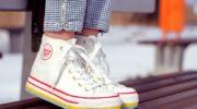 Легко чистим белую обувь