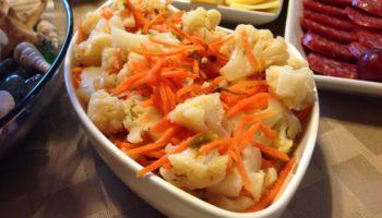 Маринованная капуста по-корейски быстрого приготовления