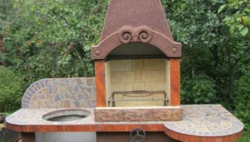 Как сделать печь мангал-барбекю своими руками из кирпича: пошаговая инструкция