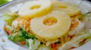 Вкусные и простые салаты с ананасом