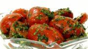 Корейский помидорный салат