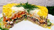 Вкусный салат со шпротами, от которого не откажется никто
