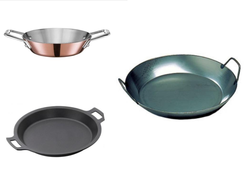 Лучшие сковородки для приготовления паэльи и ризотто